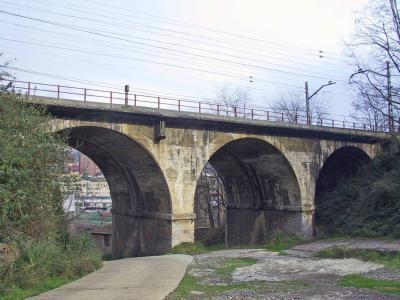 Puente Ferrocarril Bilbao-Tudela
