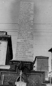Lápida Mártires