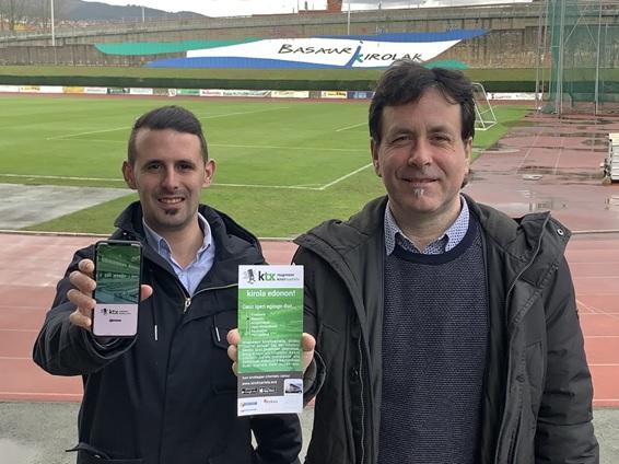 La tarjeta única para el uso de instalaciones deportivas Mugiment Kirol Txartela llega a Basauri