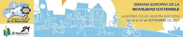 Semana de la movilidad sostenible 2014.