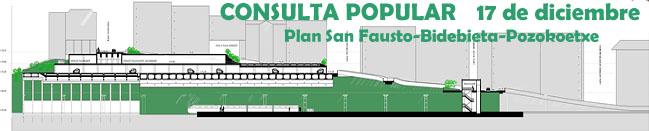 Consulta popular sobre el Plan de Regeneración Urbanística de San Fausto, Bidebieta y Pozokoetxe