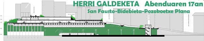 San Fausto, Bidebieta eta Pozokoetxe Hirigintza-arloan Berroneratzeko Planari buruzko Herri Galdeketa
