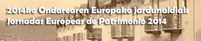 Jornadas Europeas de Patrimonio 2014