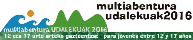 Multiabentura Udalekuak 2016
